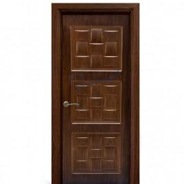 درب اتاقی HDF سه قاب حصیری